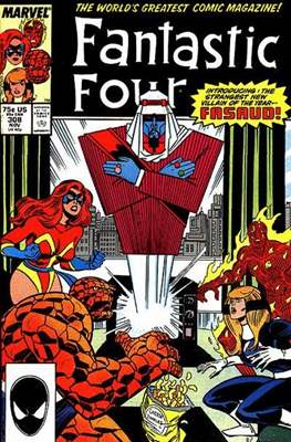 Fantastic Four Vol. 1 (1961-1996) (saddle-stitched) #308