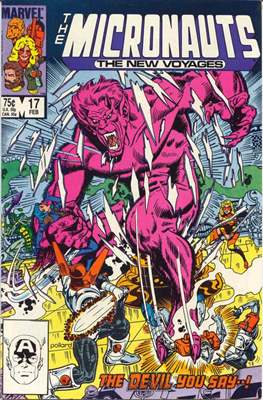 The Micronauts The New Voyages (Comic Book) #17