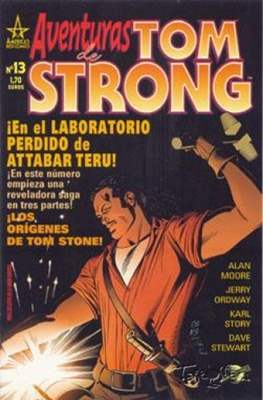 Aventuras de Tom Strong (2003-2004) (Grapa 24-32 pp) #13
