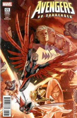The Avengers Vol. 7 (2016-...Variant Covers ) (Grapa) #675.1