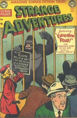 Strange Adventures (Comic Book) #8
