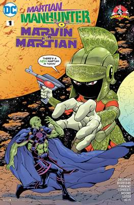 Martian Manhunter / Marvin the Martian