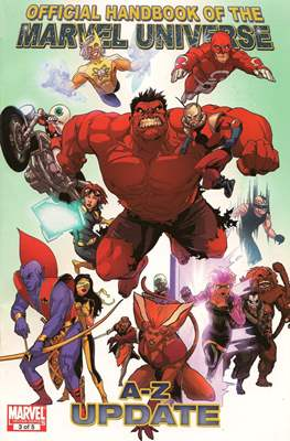 Official Handbook of the Marvel Universe A-Z Update (Handbook) #3