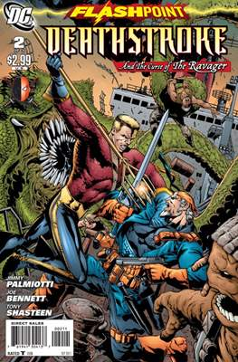 Flashpoint: Deathstroke and the Curse of the Ravager Vol 1 (Grapa) #2
