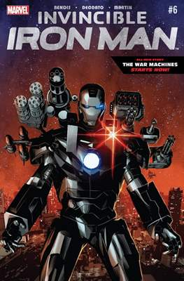 Invincible Iron Man (Vol. 2 2015-2017) (Comic-book) #6