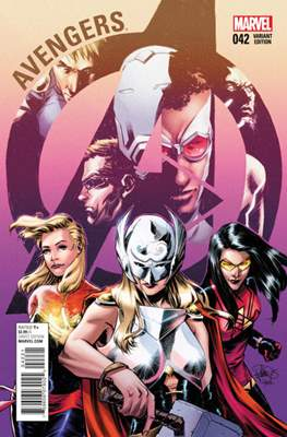 Avengers Vol. 5 (2013-2015 Variant Covers) (Comic Book) #42