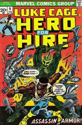 Hero for Hire/Power Man Vol.1 (1972-1978) (Grapa, 32 págs.) #6