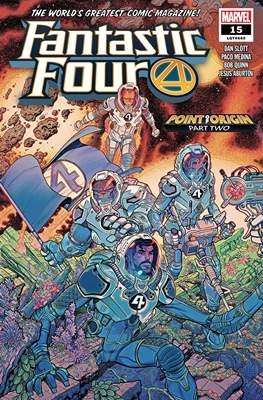 Fantastic Four Vol. 6 (2018-...) (Comic Book) #15