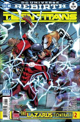 Teen Titans Vol. 6 (2016-2020) (Comic Book) #8