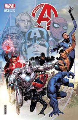 New Avengers Vol. 3 (2013 -2015 Variant Covers) (Comic Book) #33
