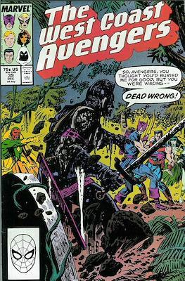 West Coast Avengers Vol. 2 (Comic-book. 1985 -1989) #39