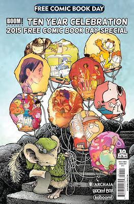 Boom Studios! Ten year celebration. Free Comic Book Day 2015