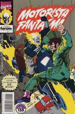 Motorista Fantasma (1991-1994) (Grapa. 17x26. 24 páginas. Color. (1991-1994).) #5