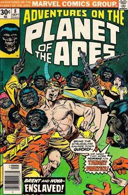 Adventures on the Planet of Apes #8