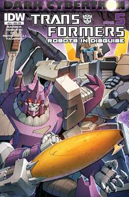 Transformers: Robots in Disguise (Cómic grapa) #24
