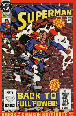 Superman Vol. 2 (1987-2006) (Comic Book) #50