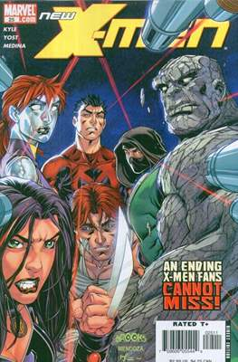 New X-Men: Academy X / New X-Men Vol. 2 (Comic-Book) #25