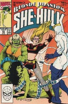 Sensational She-Hulk (1989-1994) (Grapa) #23