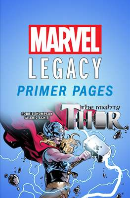 The Mighty Thor: Marvel Legacy Primer Pages