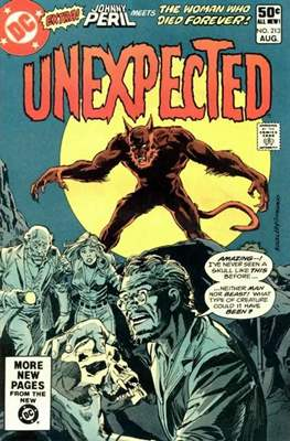 The Unexpected (Comic Book) #213