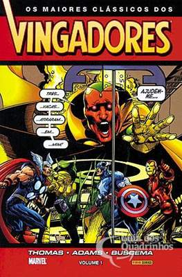 Os maiores clássicos dos Vingadores (Brochado) #1