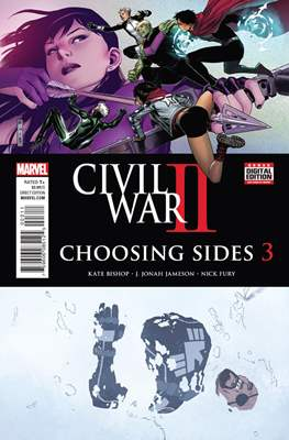 Civil War II: Choosing Sides (Comic Book) #3