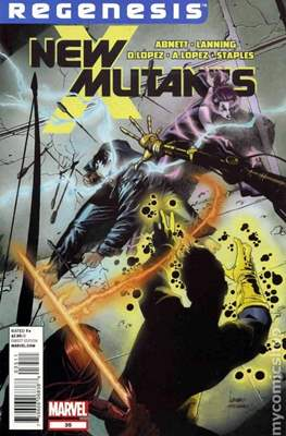 New Mutants Vol. 3 (Comic Book) #35