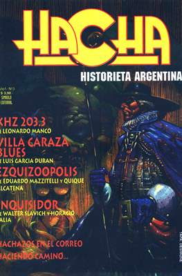 Revista Hacha (Grapa) #3