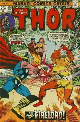 Journey into Mystery / Thor Vol 1 (Comic Book) #246