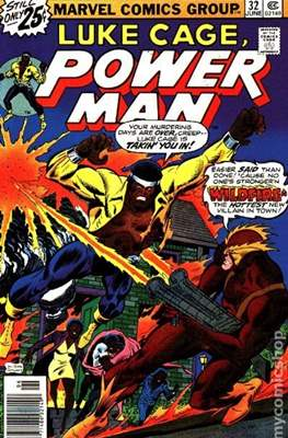 Hero for Hire / Power Man Vol 1 / Power Man and Iron Fist Vol 1 (Comic Book) #32