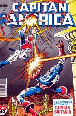 Capitán América vol. 1 / Marvel Two-in-one: Capitán America & Thor vol. 1 (1985-1992) (Grapa 32-64 pp) #49