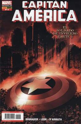 Capitán América Vol. 7 (2005-2011) (Grapa) #8