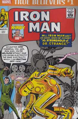 True Believers Kirby 100th Iron Man