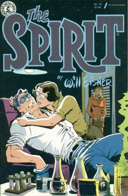 The Spirit (1983-1992) (Comic book. 32 pp) #15