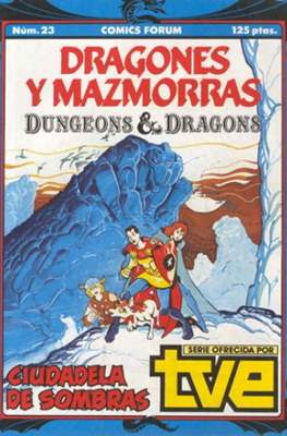 Dungeons and dragons. Dragones y mazmorras (Grapa 32 pp) #23