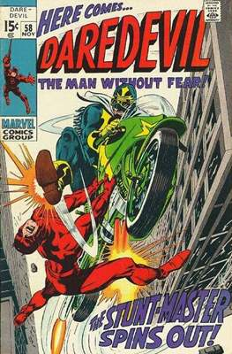 Daredevil Vol. 1 (1964-1998) (Comic Book) #58