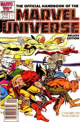 Official Handbook of the Marvel Universe Vol 2 (Handbook) #14