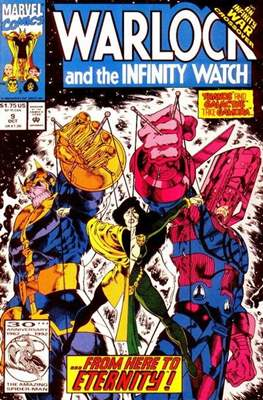 Warlock and the Infinity Watch (Comic-Book) #9