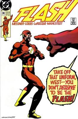 The Flash Vol. 2 (1987-2006) (Comic Book) #34