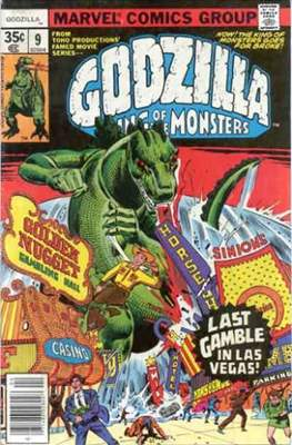 Godzilla King of the Monsters #9