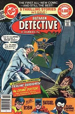 Detective Comics Vol. 1 (1937-2011; 2016-) (Comic Book) #495