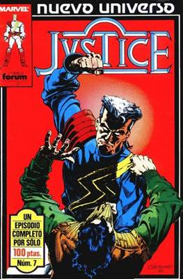 Justice (1988-1989) (Grapa. 17x26. 24 páginas. Color.) #7