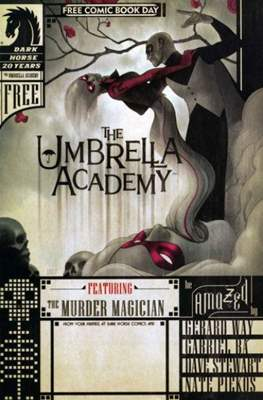 The Umbrella Academy. The Murder Magician. Free Comic Book Day