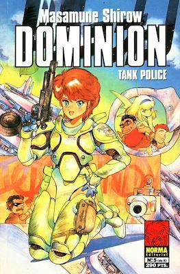 Dominion. Tank police (Rústica, 48 páginas) #5