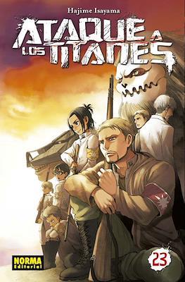 Ataque a los Titanes (Rústica con sobrecubierta) #23
