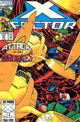 X-Factor Vol. 1 (1986-1998) (Comic Book) #91
