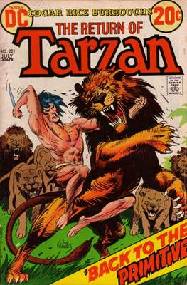 Tarzan (Comic-book) #221