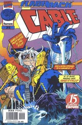 Cable Vol. 2 (1996-2000) (Grapa 24 pp) #25