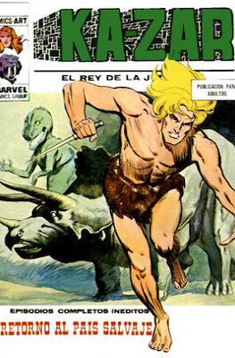Ka-Zar (1973-1974) (Rústica 128 pp) #8