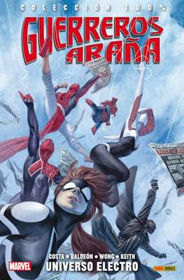 Guerreros Araña (2016-2017).100% Marvel #1